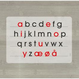 LærLet - De små bogstaver