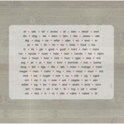 LærLet - De 120 hyppigste ord