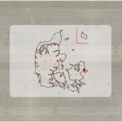 LærLet - Danmarkskort