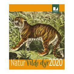 Vægkalender Natur - Vilde dyr 2020