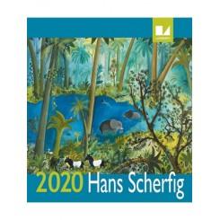 Vægkalender Hans Scherfig 2020