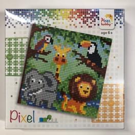 Pixelsæt - Jungledyr