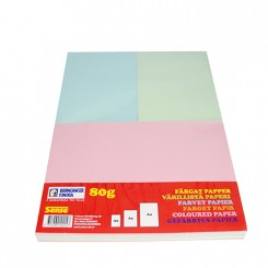 1 kg farvet kopipapir A4/A5/A6