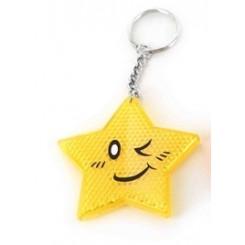 Refleks m. stjerne, gul