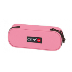 Penalhus CITY Oval - Candy Pink