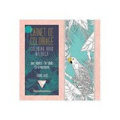 Malebog : Carnet de coloriage BIRDS