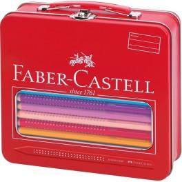 Faber Castell Jumbo GRIP farve kuffert