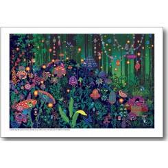 Peggy Nille plakat - Drømmeskoven