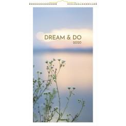 Vægkalender Dream & Do 2020