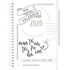 Ugekalender Doodle II A5, 2020