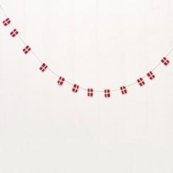 Flagguirlande, filt, 1,2m