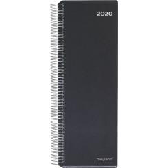 Spiralnoteringskalender sort, 2020