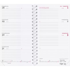 Refill: Week Planner International, 2020