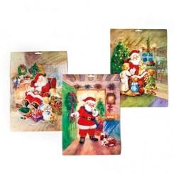 Julekalender - Julemandsmotiv