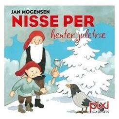 Pixi-serie 136 + 127 - Julehistorier - Nisse Per henter juletræ