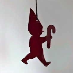 RYBORG Ornament nisse med sukkerstok