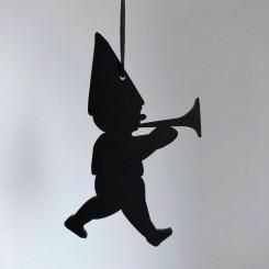RYBORG Ornament nisse med trompet