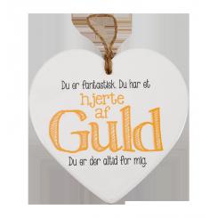 Porcelænshjerte: Hjerte af guld