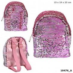 TOPModel Mini Rygsæk m. vendbare pailletter, pink