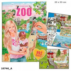Create your Zoo Aktivitetsbog m. stickers