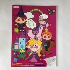 Malebog A4 - Prinsesser