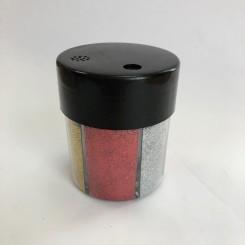 Glimmerdåse m. 6 farver, almindelig