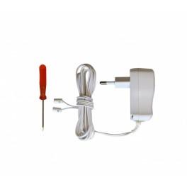 Adapter til 13cm adventsstjerne, hvid (til 5 med LED)