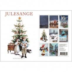 JULESANGE - 8 forskellige dobbeltkort