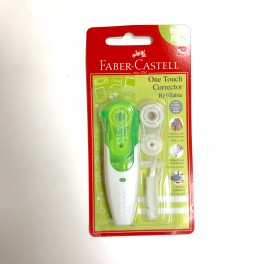 Faber Castell One Touch Corrector, grøn