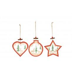 Juleophæng i træ