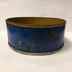 Rustik kageform, blå