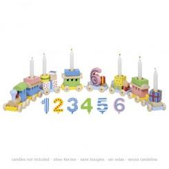 Fødselsdagstog med 7 vogne