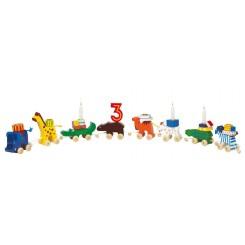 Fødselsdagskaravane med dyr