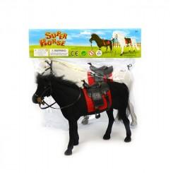 Hest 28 cm, sort