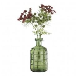 Graphic vase 19 cm, flaskegrøn