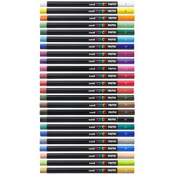 Uni Posca Pastelfarver - enkeltvis
