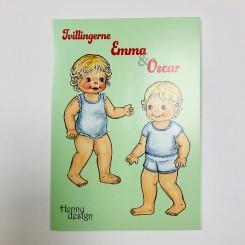 FOLD-UD-BOG: Tvillingerne Emma & Oscar