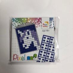 Pixel mosaic nøglering - Enhjørning
