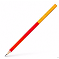 Faber Castell Grip, rød