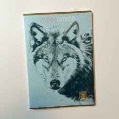 Animal Cromo kladdehæfte, linieret, A4