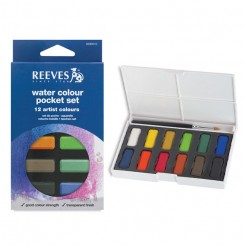 Reeves Vandfarver 12 farver