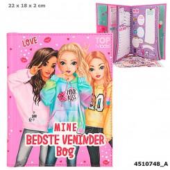"""TOPModel """"Mine bedste veninder Bog"""" - Pink Kiss"""