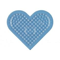 Hama perleplader MIDI hjerte transparent - lille