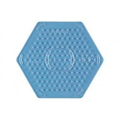 Hama perleplader MIDI sekskant transparent - lille