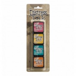 Distress ink mini 4 stk. I