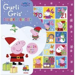 Peppa Pig - Gurli Gris - Julekalender med 24 små bøger