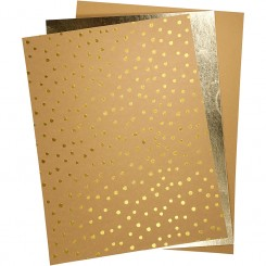Læderpapir, 3 ark