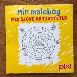 Krea Pixi-serie 1 - Min malebog - Med sjove aktiviteter