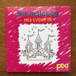 Krea Pixi-serie 1 - Min malebog - Med eventyr