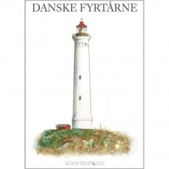 DANSKE FYRTÅRNE - 8 forskellige dobbeltkort